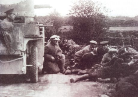 AAR Armoured Car in a Clare Ambush